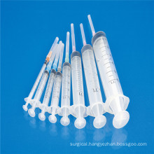 Sterile Three Parts Syringe with CE ISO SGS GMP TUV